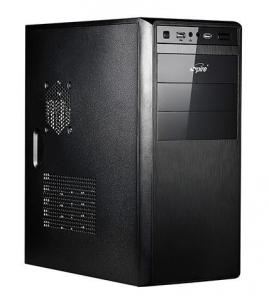 PC case Spire MANEO 1076B, black, PSU 420W