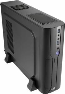PC korpusas AeroCool PGS CS-101, microATX , USB3, Juodas