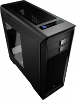 PC korpusas be PSU Aerocool AERO-1000 BLACK ATX , USB3.0