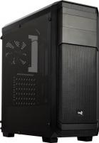 PC korpusas be PSU Aerocool AERO-300 BLACK FAW Window ATX , USB3.0