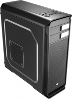 PC korpusas be PSU Aerocool AERO-500 BLACK ATX , USB3.0