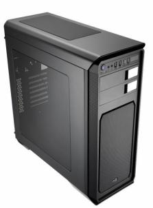 PC korpusas be PSU Aerocool AERO-800 BLACK ATX , USB3.0