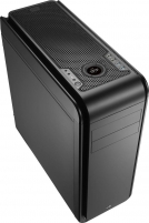 PC korpusas be PSU Aerocool DS 200 LITE BLACK ATX , USB3.0
