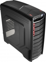 PC korpusas be PSU Aerocool GT-A BLACK ATX , USB3.0