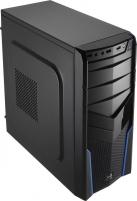 PC korpusas be PSU Aerocool PGS V2X BLACK / BLUE ATX , USB3.0