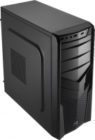 PC korpusas be PSU Aerocool PGS V2X BLACK ATX , USB3.0