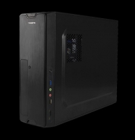 PC korpusas be PSU Tacens VERSA, microATX, SD Card Reader, USB 3.0, Juodas