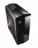 PC Korpusas be PSU X2 Isolatic 6021, 1x USB 3.0, 1x USB 2.0, Juodas