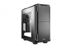 PC korpusas be quiet! Silent Base 600 window, sidabr., ATX, micro-ATX, mini-ITX