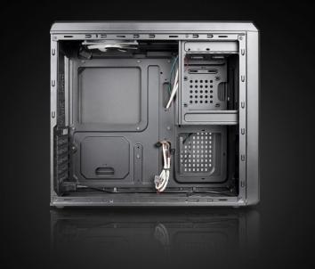 PC korpusas Chieftec UNI series UC-02B, 350W (GPA-350S8)