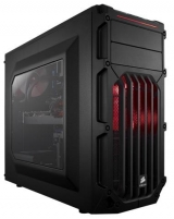PC korpusas Corsair Carbide Series™ SPEC-03 RED LED Mid Tower Gaming case