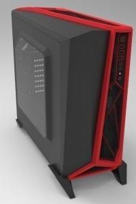 PC korpusas Corsair Carbide Series SPEC-ALPHA, MicroAtx, MiniItx, Juodai-raud.