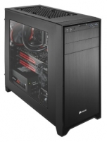 PC korpusas Corsair Obsidian 350D, USB3, 120/140mm, Langelis