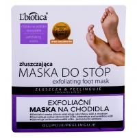 Pėdų cream L´Biotica Foot Mask Exfoliating 1vnt Leg care