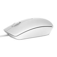 Pelė Dell Mouse Optical, MS116 USB (2 buttons+scroll) White