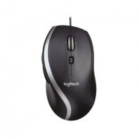 Pelė Logitech Mouse M500 Wired, Precision laser mouse, Black, No