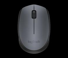 Pelė Logitech Wireless Mouse M170 GREY-K
