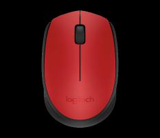 Pelė Logitech Wireless Mouse M171 RED-K