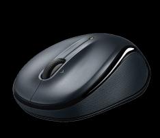 Pelė Logitech Wireless Mouse M325 Dark Silver WER