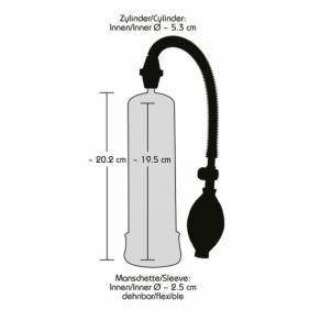 Penio pompa Shotas Penis pump