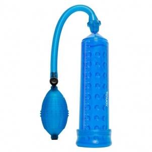Penio pompa su stimuliuojančia mova - Mėlyna . Penio pompos