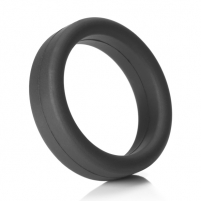 Penio žiedas TANTUS - SUPER SOFT C-RING BLACK Пенис кольца