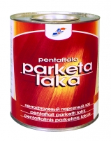 Pentaftalinis parketo lakas 0,9 l Varnishes