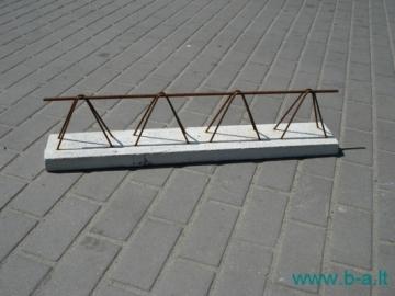 Perdangos sijos 'TERIVA 4,0/1' 0,12x7,6 m Apkopota pārklājuma