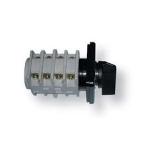 Perjungiklis įleidžiamas, 3P, 40A, 0-1-2, su pasukama rankenėle, pilka-juoda, ELK, ETI 04772244 Packet switches