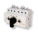 Perjungiklis modulinis, 3P, 63A, 1-0-2, su pasukama rankenėle, LAS COP, ETI 04663105