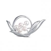 Perlų sagė 2in1 su tikrais perlais JwL Luxury Pearls JL0631 Brooch hanger