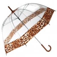 Permatomas skėtis su leopardo dėmėmis Noderīga tidbits