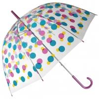 Permatomas skėtis su spalvotomis dėmėmis Noderīga tidbits