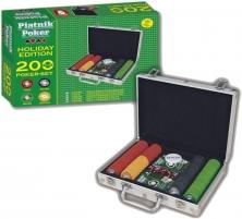 Piatnik 7939 Poker Case Holiday Edition Galda spēles bērniem