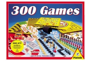 Piatnik įvairūs žaidimai 300 in 1 (781339)