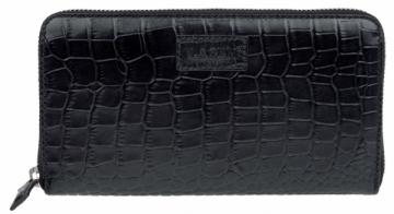 Piniginė Lagen Ladies black leather wallet Black 11227
