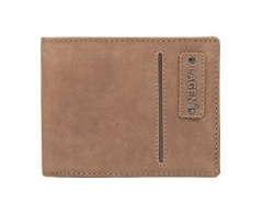 Piniginė Lagen Men´s brown leather wallet Brown ECO 521