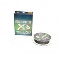 Pintas Valas ENCHANTER PEX8 150m 0.10mm Zvejas velsiešu cilvēki