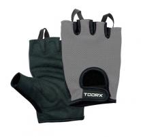 Pirštinės fitnesui Toorx AHF028 M black/gray Treniruočių pirštinės, diržai