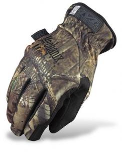 Pirštinės Mechanix Wear FastFit Mossy Oak Тактические перчатки