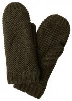 Pirštinės Pieces Women´s gloves PCDACE WOOL MITTENS Forest Night Gloves