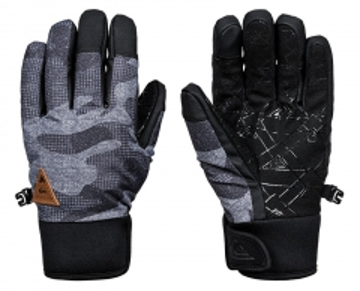 Pirštinės Quiksilver Gloves Method Glove Black Camo kazi EQYHN03082-KVJ9 Gloves