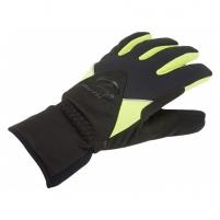 Pirštinės UltraTech Thermo black/yellow-neon L