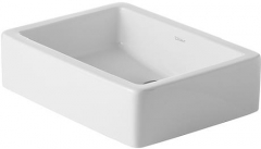 Plain basin 50 cm Vero, white