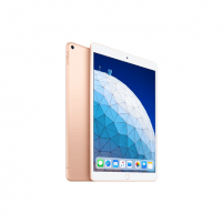 "Planšetinis kompiuteris Apple iPad Air 10.5 "", Gold, Retina display, 2224 x 1668 pixels, A12 Bionic chip with 64‑bit architecture; Neural Engine; Embedded M12 coprocessor, 64 GB, Wi-Fi, 4G, Front camera, 7 MP, Rear camera, 8 MP, Bluetooth, 5.0, iOS, Planšetdatoros, E-lasītājs"