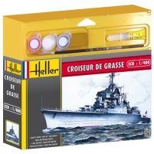 Plastikinis modelio rinkinys Heller 49023 Laivas - CROISEUR DE GRASSE 1:1400