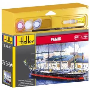 Plastikinis modelio rinkinys Heller 49058 Laivas - PAMIR 1:750 Stick patterns for kids