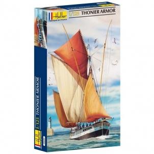 Plastikinis modelio rinkinys Heller 80609 Laivas THONIER ARMOR 1:125 Stick patterns for kids