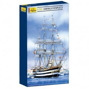 Plastikinis modelio rinkinys Heller 80807 Laivas AMERIGO VESPUCCI 1:150 Stick patterns for kids
