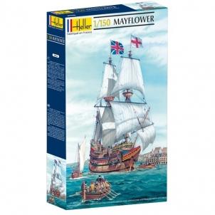 Plastikinis modelio rinkinys Heller 80828 Laivas - Mayflower 1:150 Nūju modeļus bērniem